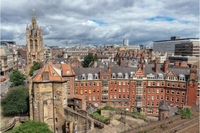 buildings in Newcastle